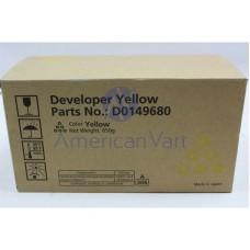 Cilindro Unidad Revelador Amarillo D0149680 Ricoh Original C6000 C7500 C700 C2800
